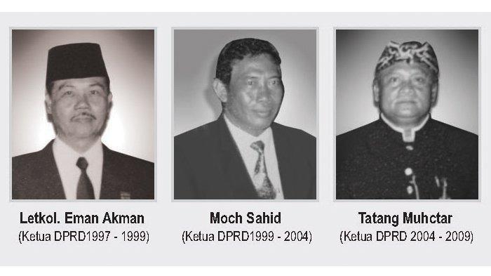 Ketua DPRD Kota Bogor dari masa ke masa
