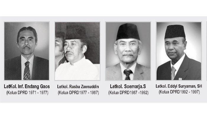 Ketua DPRD Kota Bogor dari masa ke masa.