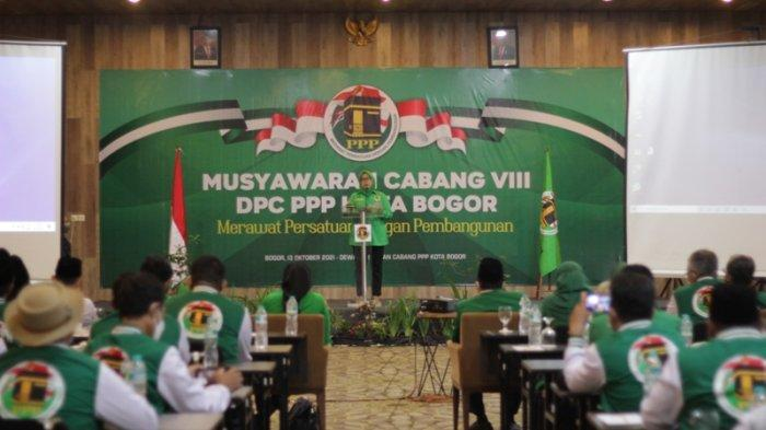 Zaenul Mutaqin Kembali Terpilih Menjadi Ketua DPC PPP Kota Bogor, Persiapkan Agenda Pemilu 2024