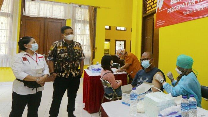 Rangkaian HUT ke 43, GM FKPPI Kota Bogor Adakan Vaksinasi Dosis Kedua