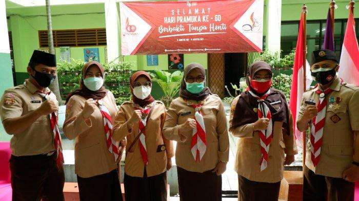 Hari Pramuka ke-60, Syarifah Sofiah Ikut Upacara Tingkat Jawa Barat secara Virtual