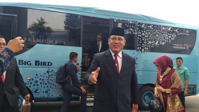 Pimpinan KPK Tiba di Istana Kepresidenan 3 Jam Sebelum Pelantikan