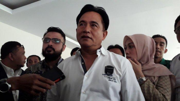Andika 'Babang Tamvan' Masuk Partai, Yusril Ihza Mahendra: Mudah-Mudahan Menarik Banyak Pendukung