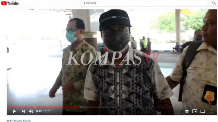 Video Eksklusif Detik-detik Romahurmuziy Ditangkap KPK, Pakai Topi Wajah Ditutupi Masker