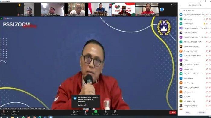 Diundang Ketum PSSI, Kelompok Suporter Diminta Melakukan Pemberdayaan Anggota