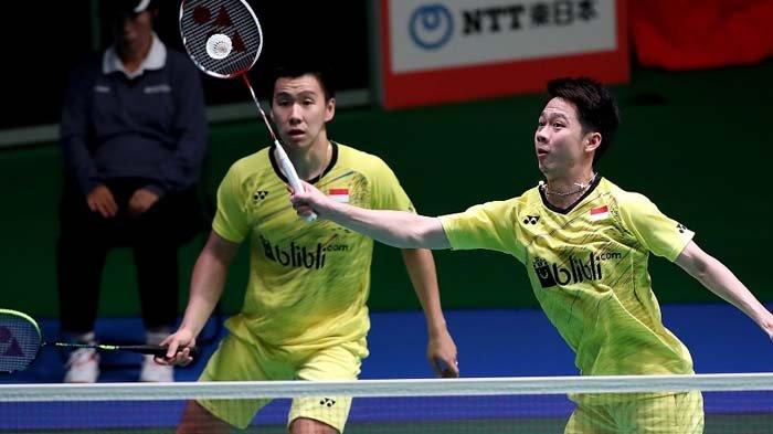 SEDANG TAYANG ! Live Streaming Marcus/Kevin vs Endo/Watanabe di Hong Kong Open 2019