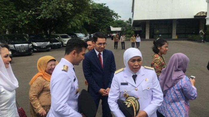 Pesan Jokowi untuk Khofifah Indar Parawansa :'Tancap Gas'