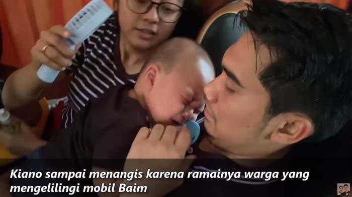 Putra Baim Wong Ketakutan Lihat Kerumunan Warga, Adik Nenek Iroh Menangis Histeris Lihat Tim Bapau