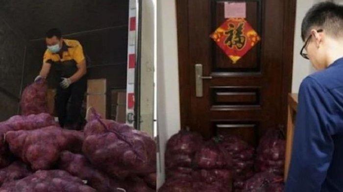 Balas Kekasih yang Selingkuh, Gadis Ini Kirim 1.000 Kg Bawang