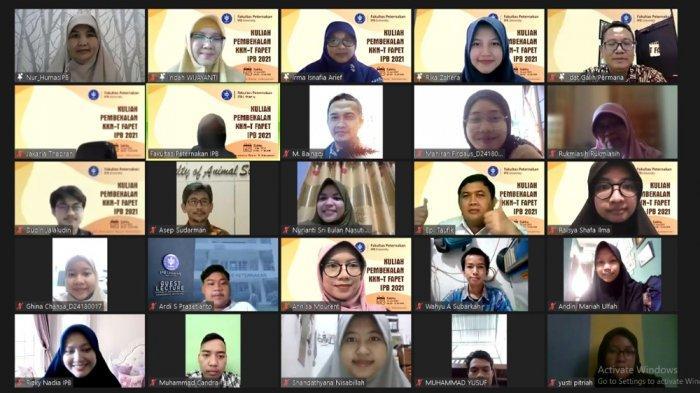 Kuliah Pembekalan KKNT, Fakultas Peternakan IPB University Berikan Materi Hardskill dan Softskill