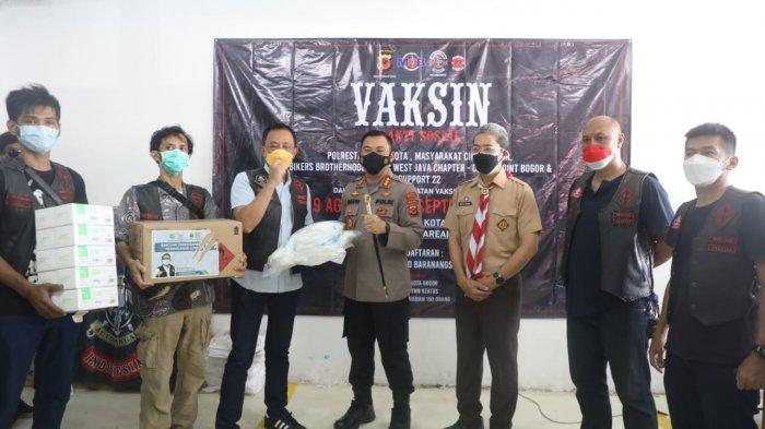 Klub Motor Turun Bantu Sukses Percepatan Vaksinasi di Kota Bogor