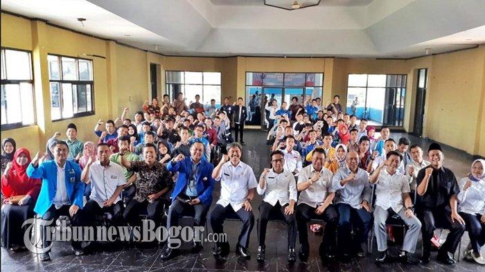 Ratusan Pemuda Se-Kabupaten Bogor Ikuti Kaderasasi dan Sosialisasi Pemuda Pelopor