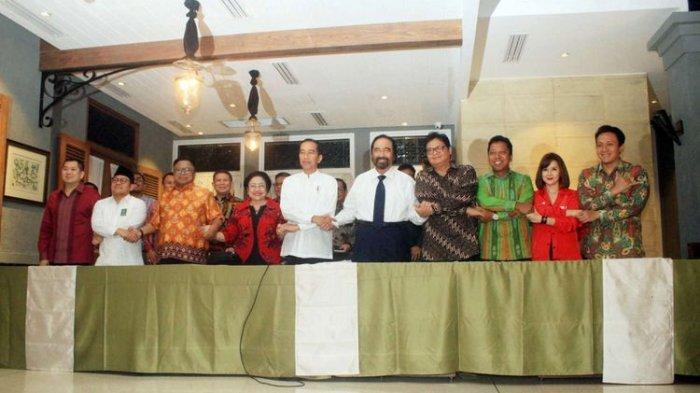 KPU Perbaiki Berkas, PSI dan Perindo Dicoret Dari Pengusung Jokowi-Ma'ruf