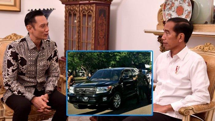 Agus Harimurti Yudhoyono Bertemu Jokowi di Istana Presiden, Plat Mobil B 2024 AHY Isyarat Pilpres?