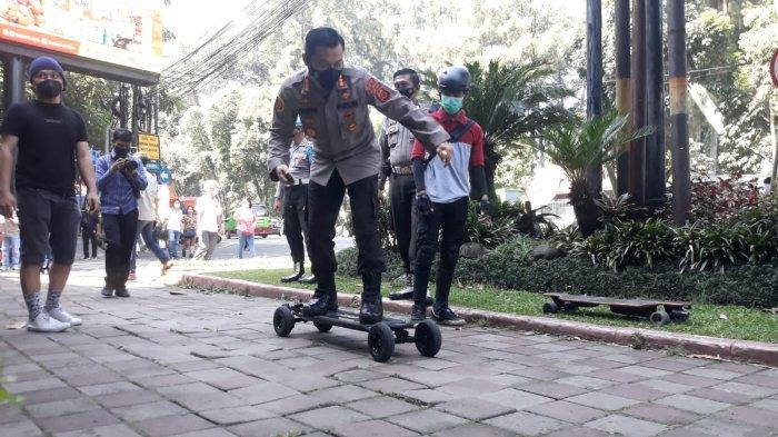 Mengenal E-Board, Elekrik Skateboard yang Kini Mulai Jadi Trend di Kota Bogor