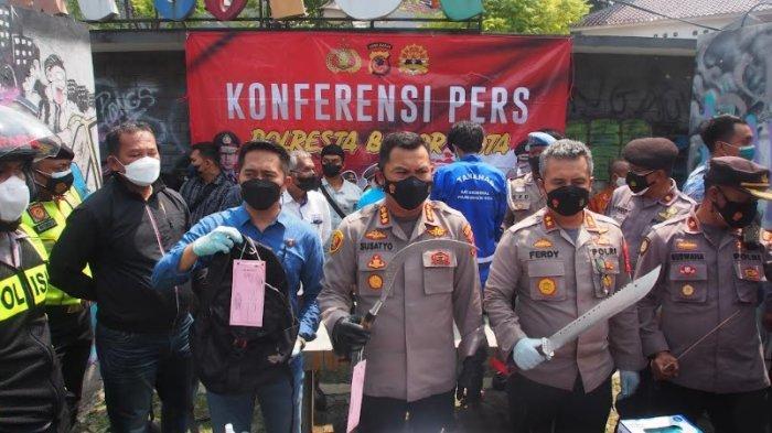 Ditangkap Polisi, Pelaku Tawuran Pelajar di Bogor Terancam 15 Tahun Penjara