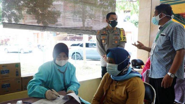 Tekan Jumlah Kasus Covid-19 di Curug Mekar, Polresta Bogor Kota Targetkan Vaksinasi 150 Warga