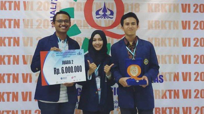 Sukses Selesaikan Soal Studi Kasus, Mahasiswa IPB Juara 2 Kompetisi Rekayasa Kualitas Nasional