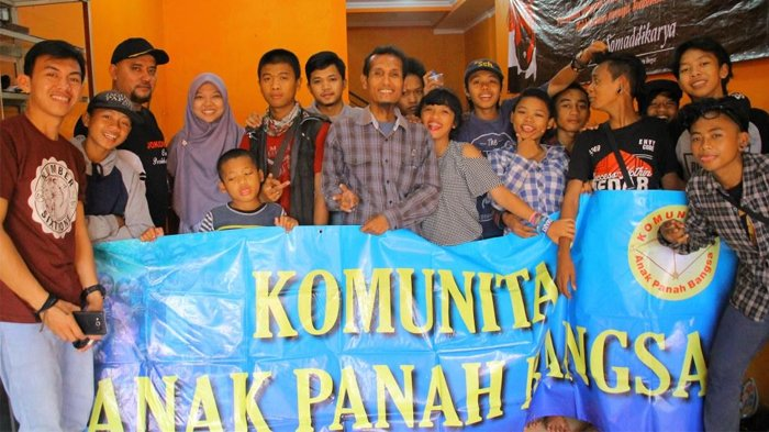 Di Rumah Singgah Ini, Anak Jalanan Kota Bogor Bebas Belajar dan Berkarya