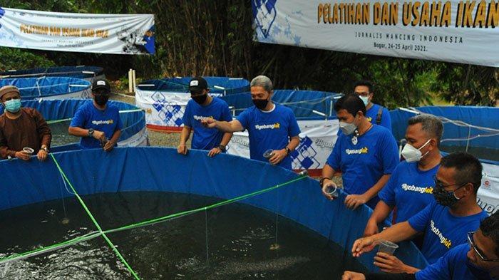 Komunitas Jurnalis Mancing Indonesia Adakan Pelatihan Budidaya Ikan Nila di Bogor