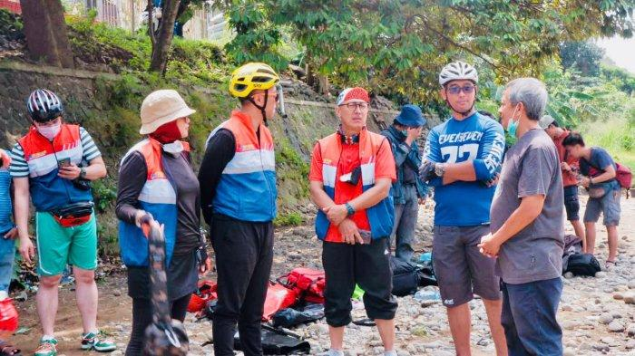 Komunitas Gorengan Jadikan Sungai Katulampa Bogor Wisata Alternatif Akhir Pekan