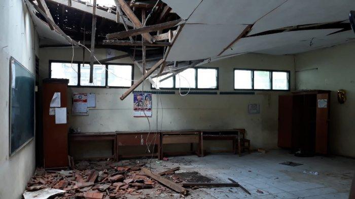 Atap Sekolah SDN Otista Bogor Ambruk, KPAI Pertanyakan Keseriusan Pemkot Gelar PTM