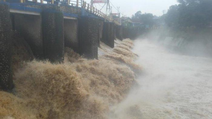 Update TMA Bendung Katulampa Pagi Ini, Statusnya Siaga 4 Pasca Bogor Diguyur Hujan Semalaman