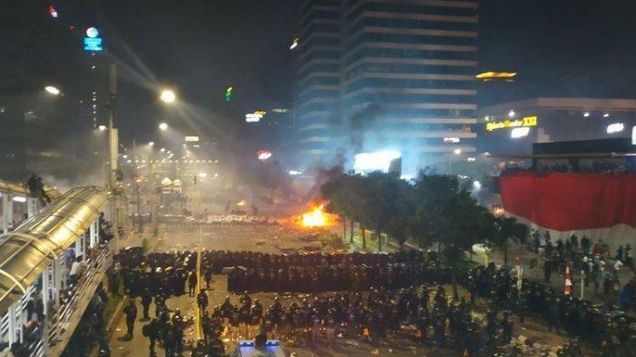 Polisi Temukan Busur Panah Beracun yang Berbahaya di Massa Kerusuhan 22 Mei