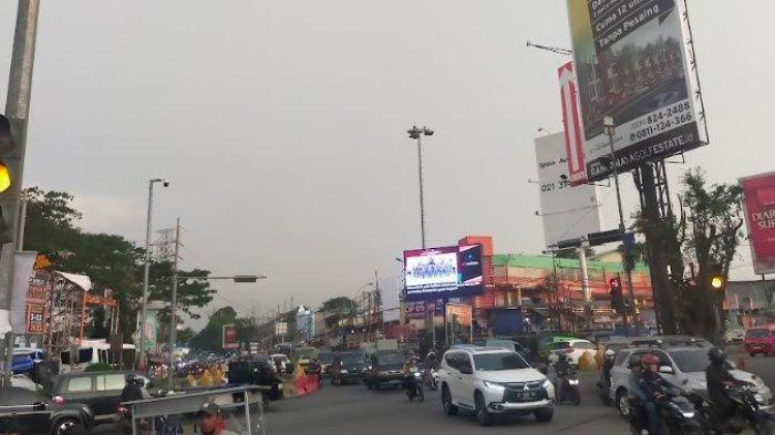 Cuaca Kawasan Ciawi Bogor Sore Ini Mendung, Lalu Lintas Ramai Lancar