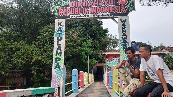 Tawarkan Wisata Ngalun, Kampung Warna-Warni di Bogor Tak Lagi Seramai Dulu