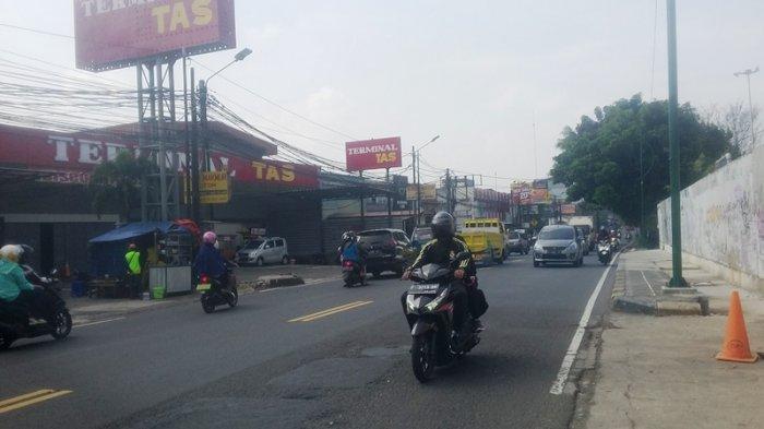 Kondisi Lalu Lintas di Tajur Bogor Rabu 24 Juni 2020