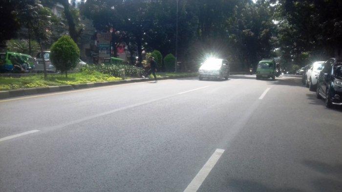 Kondisi Lalu Lintas di Baranangsiang Bogor, Lancar ke Tol Jagorawi