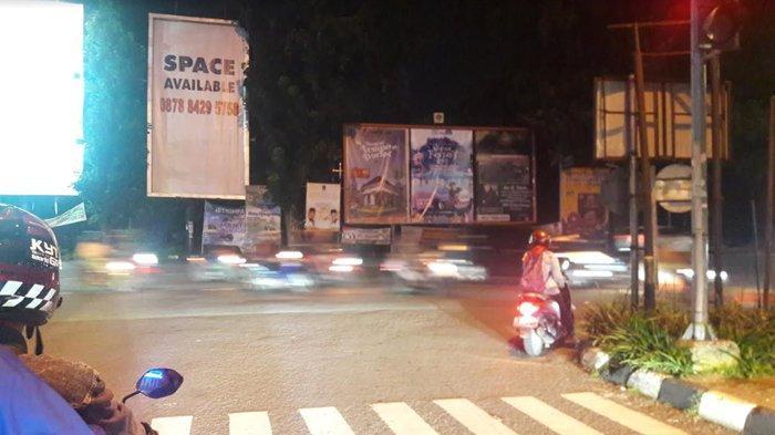 Info Lalu Lintas di Simpang CCM Malam Ini - Tetap Jaga Jarak Aman