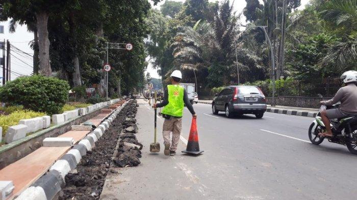 Jalan Ir Djuanda Dibangun Trotoar, Kabid PUPR Kota Bogor Kebingungan: Saya Cek Data Dulu