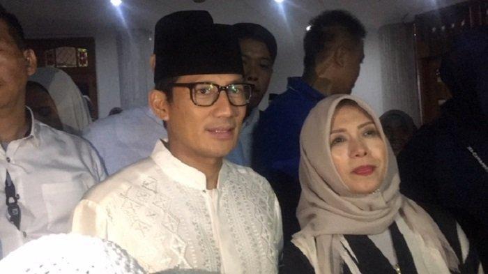 Sempat Menghilang saat Prabowo Deklarasi Kemenangan, Sandiaga Uno: Efek Obat Masih Melayang-layang