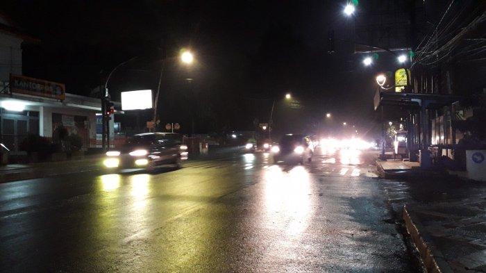UPDATE Lalin: Kendaraan di Jalur SSA Kota Bogor Malam Ini Ramai Lancar