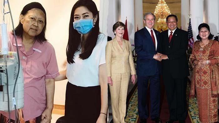 Kondisi Ani Yudhoyono Drop - Mantan Presiden AS Tulis Surat untuk Istri SBY, Ini Isi Suratnya