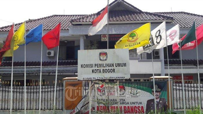 Ada Sidang di MK, Gedung KPU Kota Bogor Hari Ini Tak Ada Penjagaan Khusus