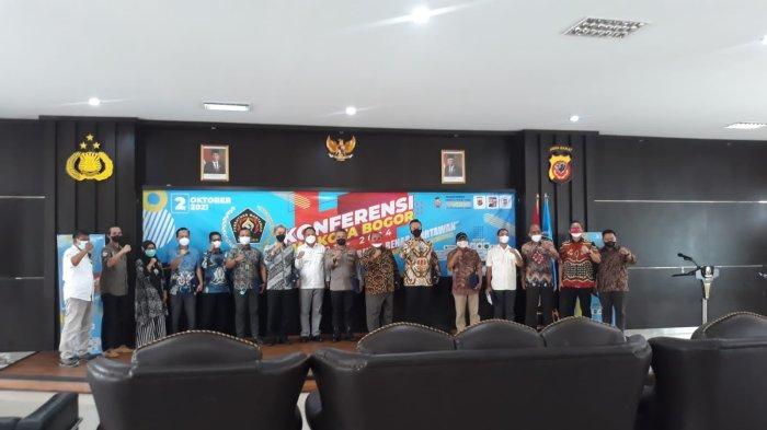 Forkompinda dan Tokoh Pers Hadiri Pembukaan Konferensi PWI Kota Bogor