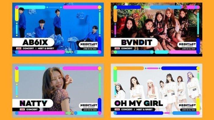 Jadwal Kpop KCON Hari Ini, Rabu 24 Juni 2020: Ada Oh My Girl, AB6IX - Tonton di Youtube atau Shopee