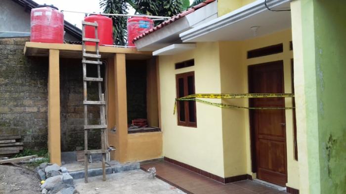 Sempat Heboh, Kini Gang Masjid Sepi, Kontrakan yang Dihuni Istri Afif Masih Diberi Garis Polisi