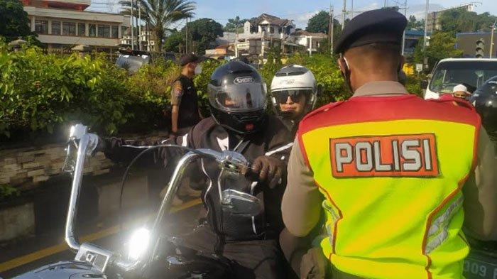 Soal Konvoi Moge Tak Melanggar Saat Lintasi Kawasan Puncak, di Kota Bogor Tetap Kena Sanksi