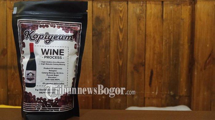 Icip Kopiyeum Asal Bogor, Rasa Kopi Beraroma Mirip Anggur