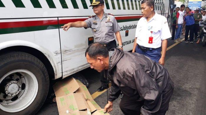 Kecelakaan Maut di Jalan Raya Cibungbulang, Reza Terkapar di Kolong Bus