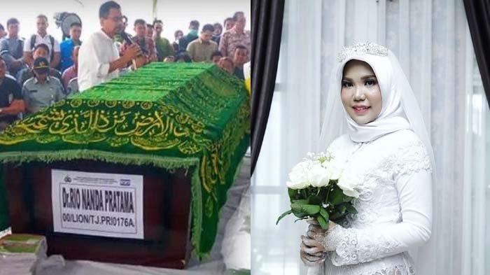 Tanpa Calon Suami, Kekasih Korban Lion Air JT610 Ini Tetap Pakai Baju Pengantin di Hari Pernikahan