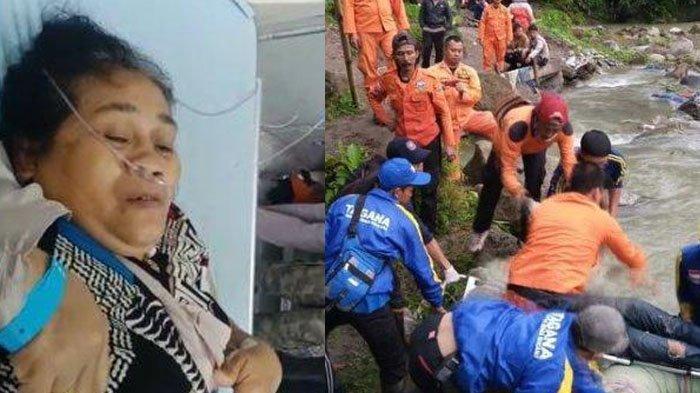 Nenek Selamatkan Cucu Saat Bus Sriwijaya Masuk Jurang, Pegang Batang Pohon Agar Tak Hanyut di Sungai