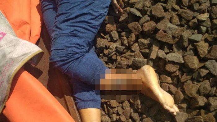 Jasad Wanita yang Tertabrak Kereta di Kebon Pedes Dibawa ke RSUD Ciawi, Kondisinya Luka Parah