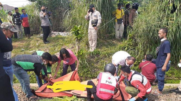 Warga Dramaga Bogor Tewas Tertabrak Kereta di Kawasan Tanah Sareal