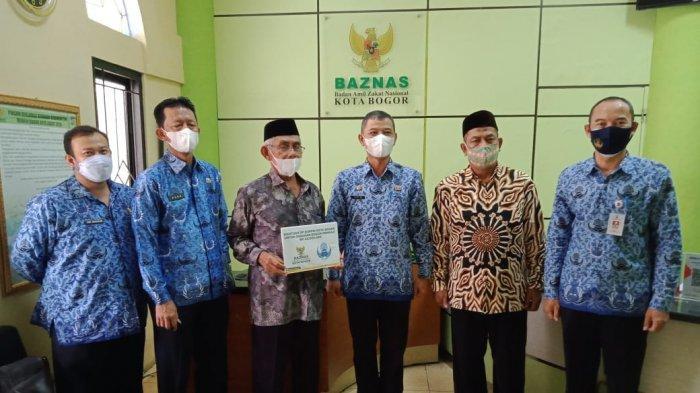 Dukung Gerakan Bogor Mengaji, Korpri Kota Bogor Salurkan Bantuan Rp 25 Juta
