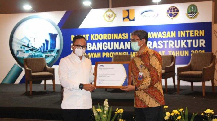 Inspektorat Kota Bogor Raih Penghargaan Kapabilitas APIP Level 3 dari BPKP